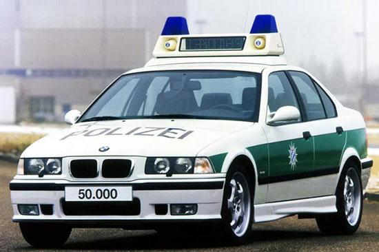 آلمان و جذاب ترین ناوگان خودروهای پلیساش!