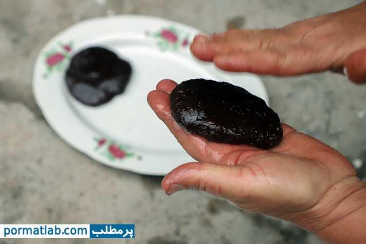 پخت جوز حلوا یا حلوای گردو در روستا