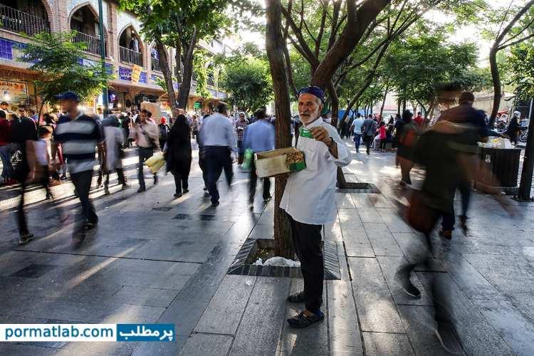 نگاهی به جمعیت در بازار - پرمطلب