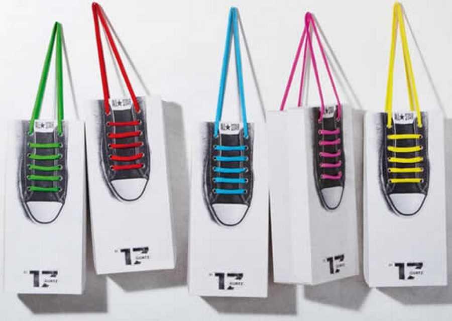 خلاقیت در طراحی کیسه های خرید