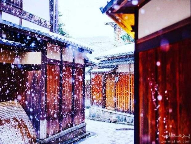کیوتو سرزمین عجایب در فصل زمستان