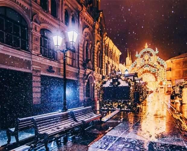 زمستان مسکو