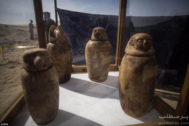 گورستانی در مصر با مومیایی هایی ۲ هزار ساله